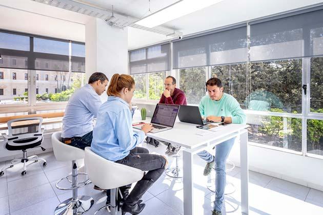 Alquiler espacios trabajo jornadas